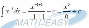 انتگرال x